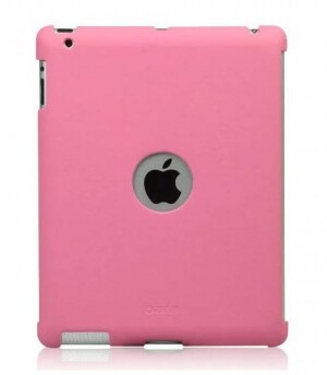 ZENUS Synthetic leather Smart Match Back Cover Pink для iPad 4/3