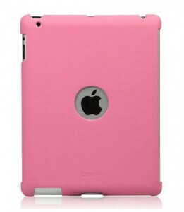 Купить ZENUS Synthetic leather Smart Match Back Cover Pink для iPad 4/3