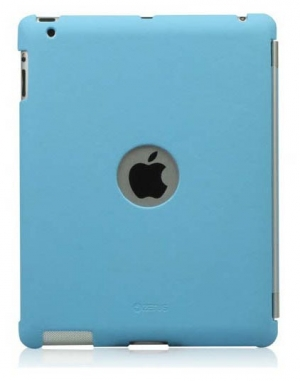 ZENUS Synthetic leather Smart Match Back Cover Blue для iPad 4/3