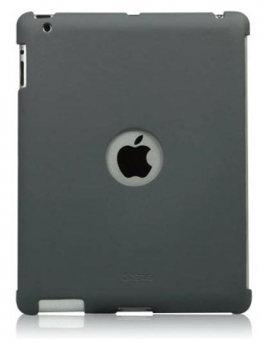 ZENUS Synthetic leather Smart Match Back Cover Grey для iPad 4/3