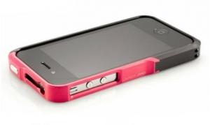 Vapor Element Case Pro Aluminium Black/Red для iPhone 4/4s