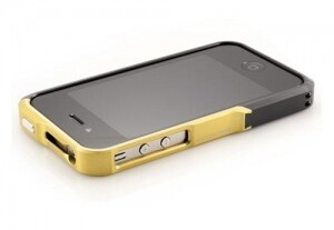 Vapor Element Case Pro Aluminium Black/Yellow для iPhone 4/4s