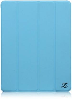 ZENUS Case 'Prestige' Smart Folio Cover Series - Blue для iPad 4/3