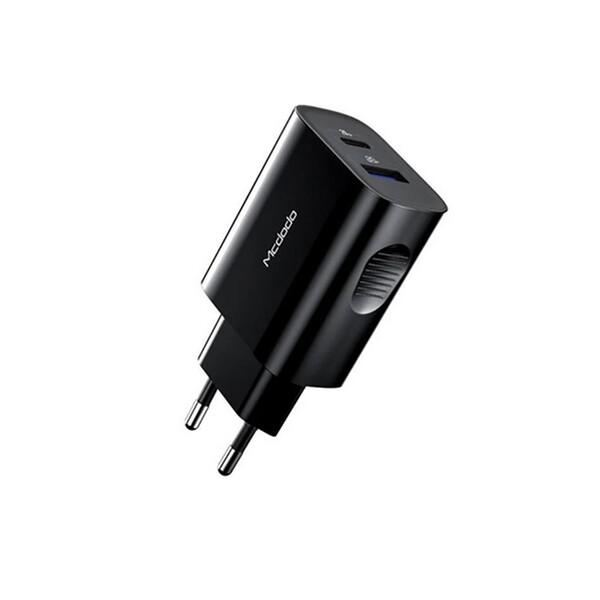 Быстрое сетевое зарядное устройство Mcdodo PD Fast Charge 20W для iPhone