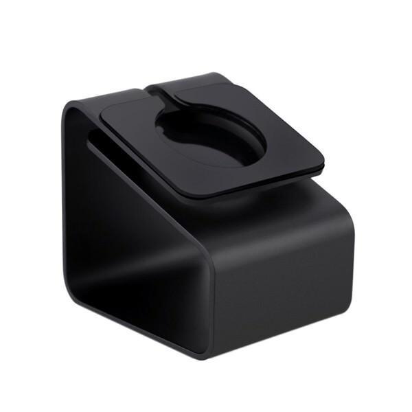 Алюминиевая док-станция Alloy Bracket Black для Apple Watch