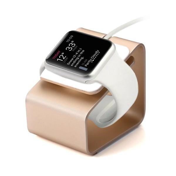 Алюминиевая док-станция Alloy Bracket Gold для Apple Watch