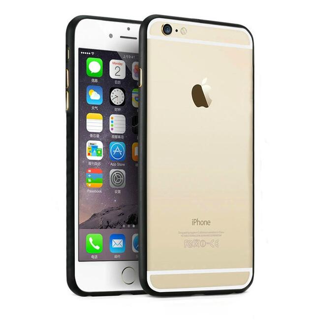 Алюминиевый бампер Alloy Black для iPhone 6 Plus