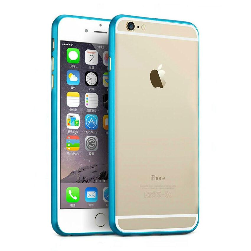 Алюминиевый бампер Alloy Blue для iPhone 6 Plus