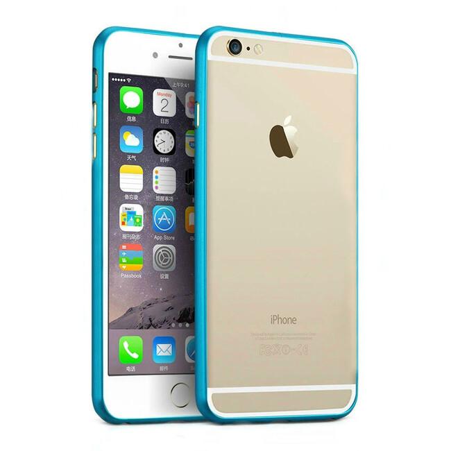 Алюминиевый бампер Alloy Blue для iPhone 6