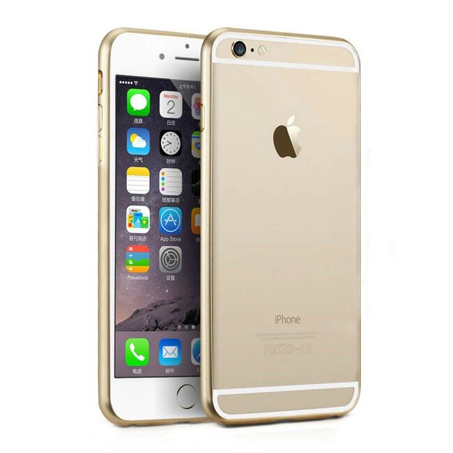 Алюминиевый бампер Alloy Gold для iPhone 6