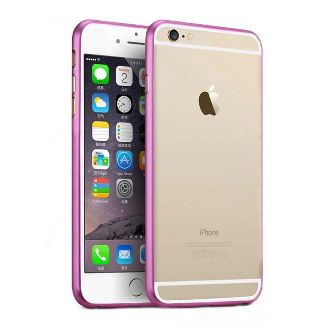Алюминиевый бампер Alloy Rose для iPhone 6 Plus