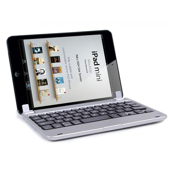 Алюминиевая Bluetooth клавиатура для iPad mini 4/3/2/1