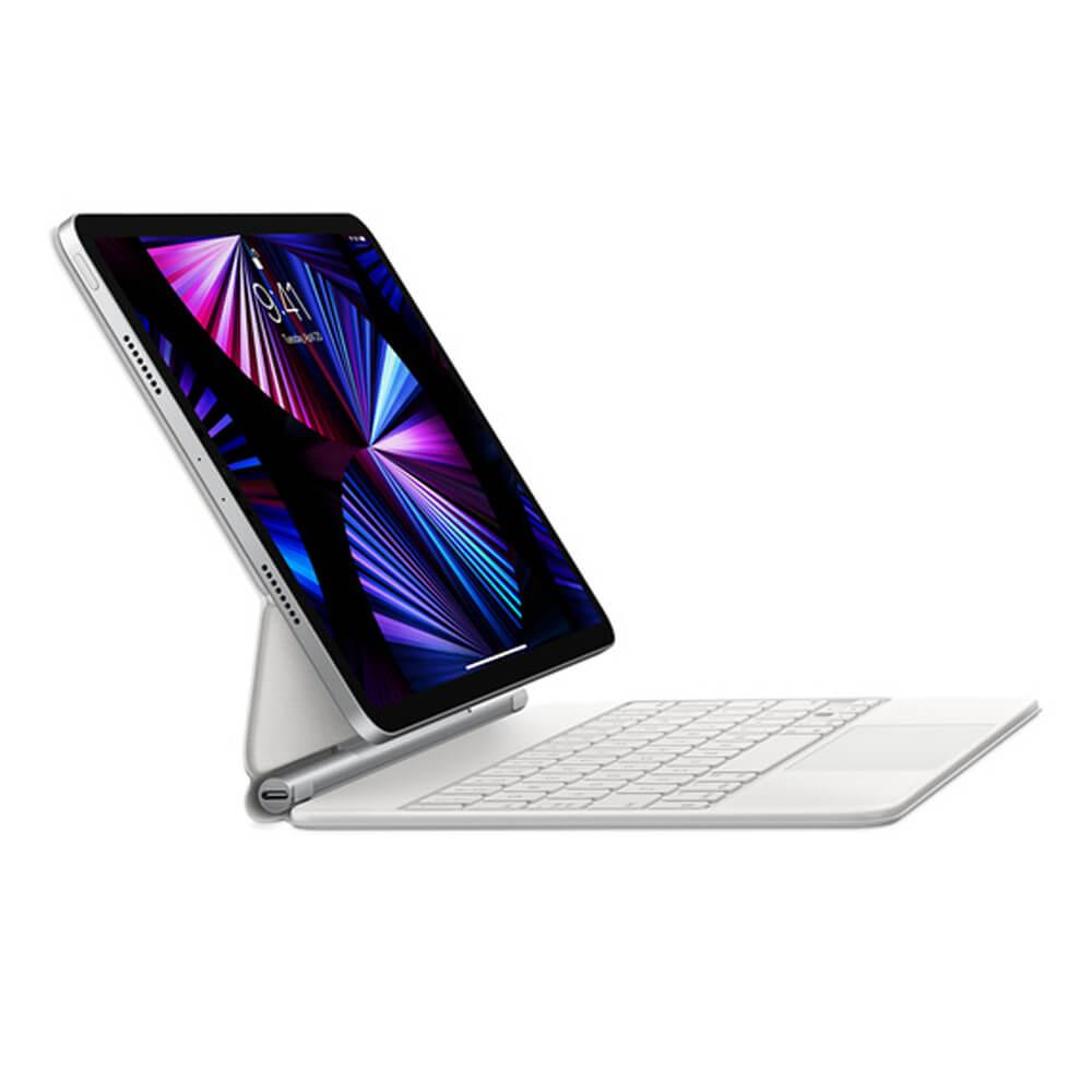 "Купить Чехол-клавиатура Apple Magic Keyboard White (MJQL3) для iPad Pro 12.9"" M1 2021   2020   2018 Russian"