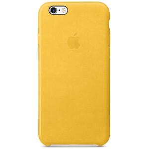 Купить Кожаный чехол Apple Leather Case Marigold (MMM22) для iPhone 6s