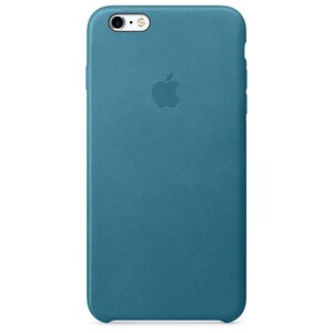 Купить Кожаный чехол Apple Leather Case Marine Blue (MM362) для iPhone 6s Plus