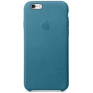 Купить Кожаный чехол Apple Leather Case Marine Blue (MM4G2) для iPhone 6s