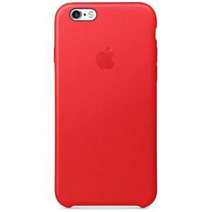 Купить Кожаный чехол Apple Leather Case (PRODUCT) RED (MKXX2) для iPhone 6s