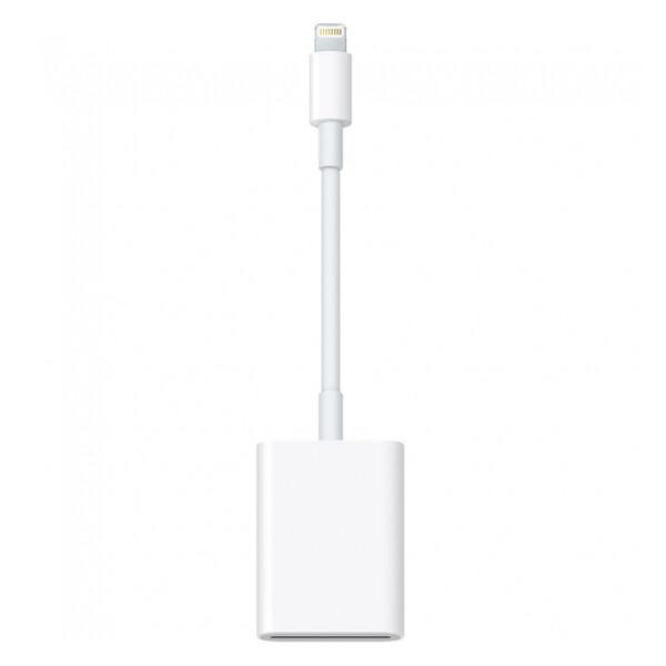 Адаптер (переходник) Apple Lightning to SD Card Camera Reader (MJYT2   MD822) для iPhone   iPad   iPod