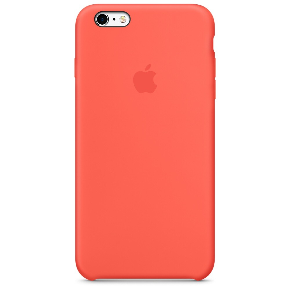 Силиконовый чехол Apple Silicone Case Apricot (MM6F2) для iPhone 6s Plus
