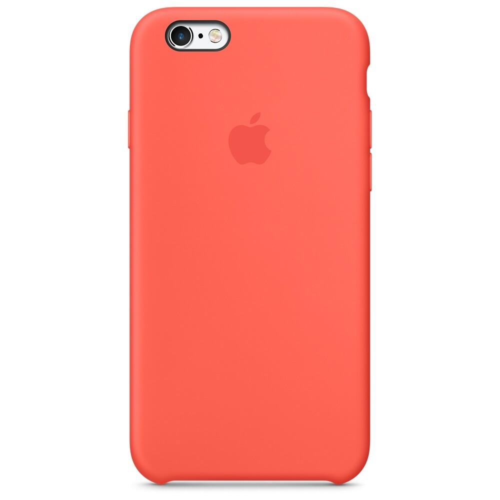Силиконовый чехол Apple Silicone Case Apricot (MM642) для iPhone 6s