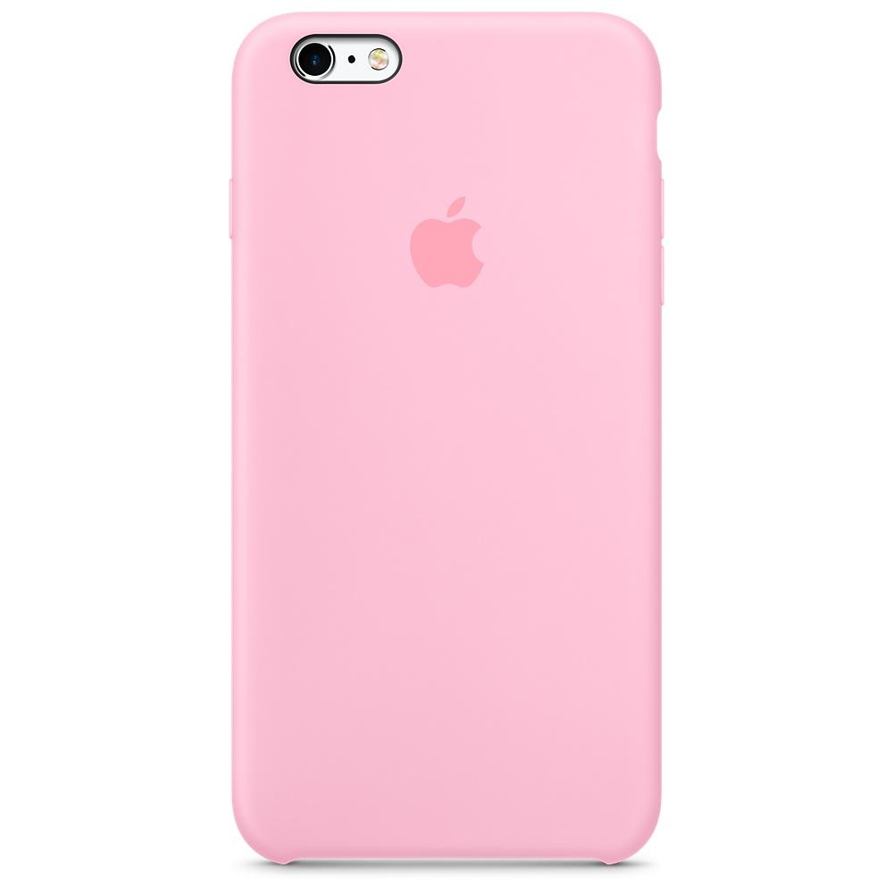 Купить Силиконовый чехол Apple Silicone Case Light Pink (MM6D2) для iPhone 6s Plus