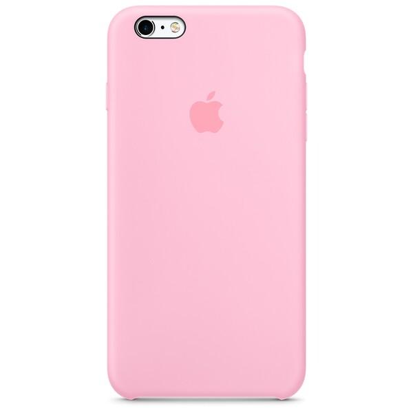Силиконовый чехол Apple Silicone Case Light Pink (MM6D2) для iPhone 6s Plus