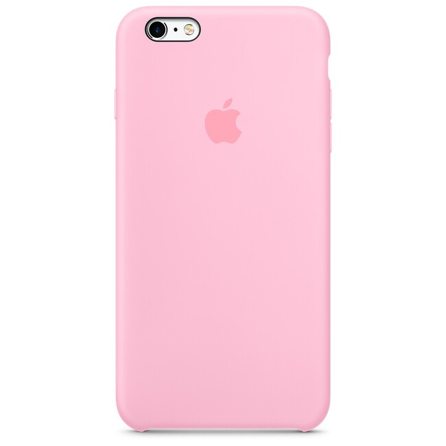 Силиконовый чехол Apple Silicone Case Light Pink (MM6D2) для iPhone 6s Plus