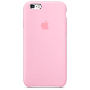 Купить Силиконовый чехол Apple Silicone Case Light Pink (MM622) для iPhone 6s