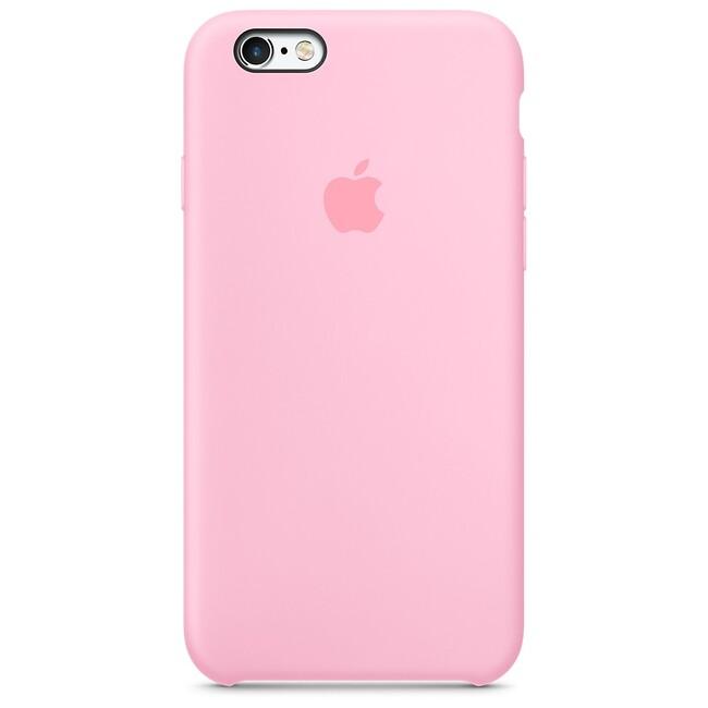 Силиконовый чехол Apple Silicone Case Light Pink (MM622) для iPhone 6s
