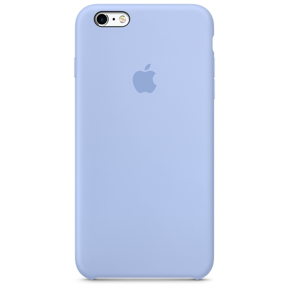 Силиконовый чехол Apple Silicone Case Lilac (MM6A2) для iPhone 6s Plus