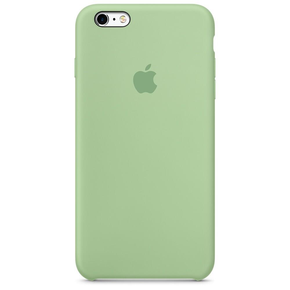 Силиконовый чехол Apple Silicone Case Mint (MM692) для iPhone 6s Plus
