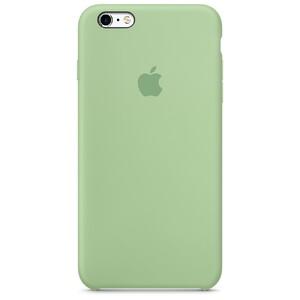Купить Силиконовый чехол Apple Silicone Case Mint (MM692) для iPhone 6s Plus