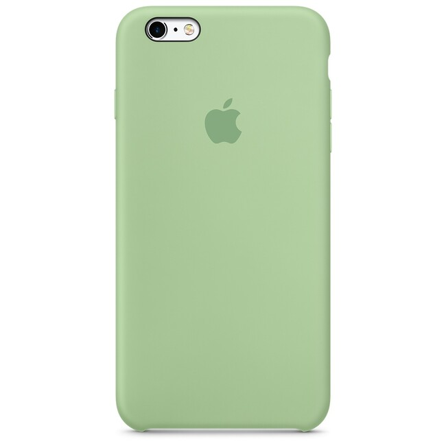 Силиконовый чехол Apple Silicone Case Mint (MM692) для iPhone 6s Plus