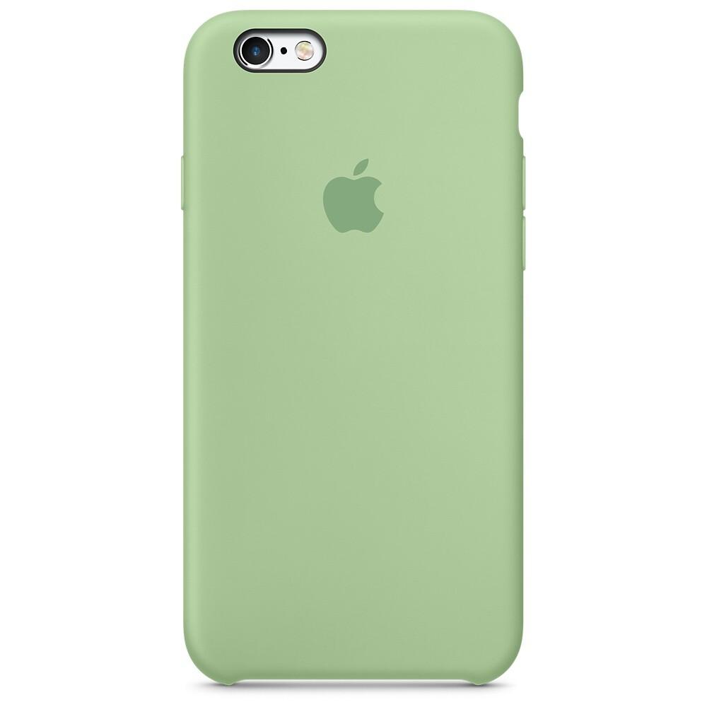 Силиконовый чехол Apple Silicone Case Mint (MM672) для iPhone 6s