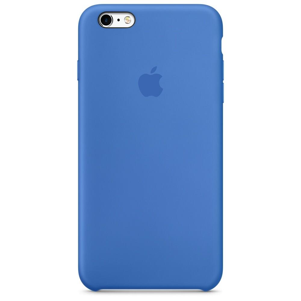 Силиконовый чехол Apple Silicone Case Royal Blue (MM6E2) для iPhone 6s Plus