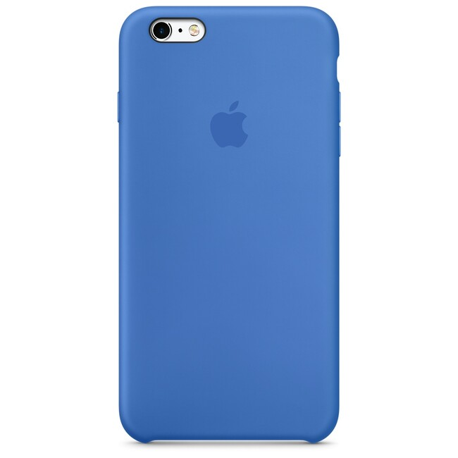 Силиконовый чехол Apple Silicone Case Royal Blue (MM6E2) для iPhone 6s Plus