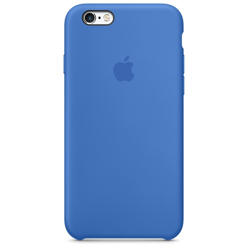 Силиконовый чехол Apple Silicone Case Royal Blue (MM632) для iPhone 6s