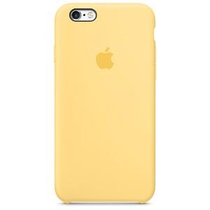 Купить Силиконовый чехол Apple Silicone Case Yellow (MM662) для iPhone 6s