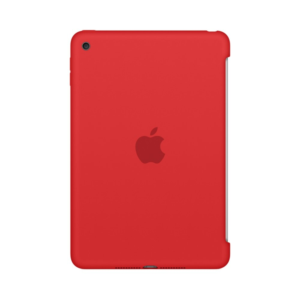 Чехол Apple Silicone Case (PRODUCT) RED (MKLN2) для iPad mini 4