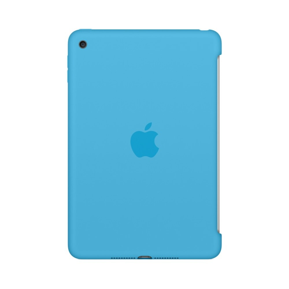 Чехол Apple Silicone Case Blue (MLD32) для iPad mini 4