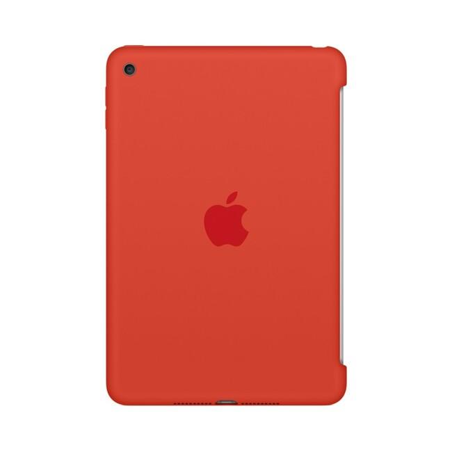 Чехол Apple Silicone Case Orange (MLD42) для iPad mini 4