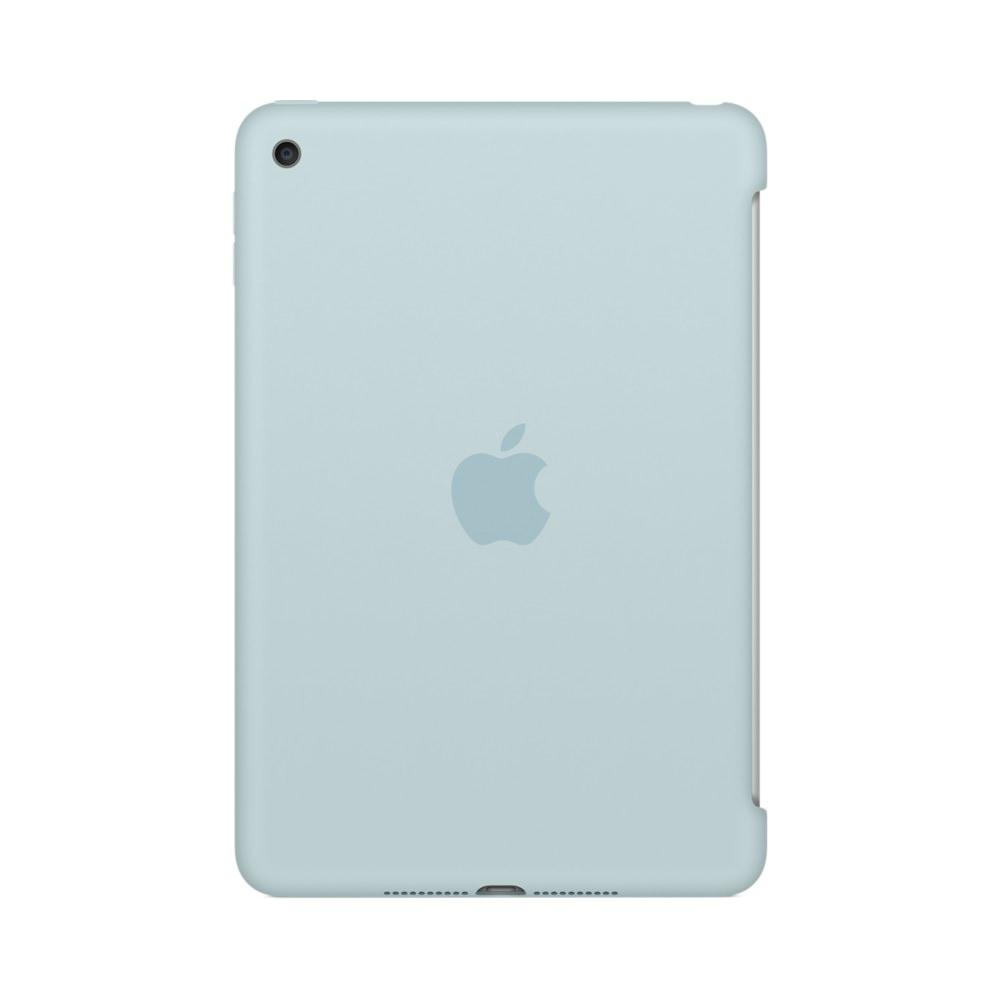 Купить Силиконовый чехол Apple Silicone Case Turquoise (MLD72) для iPad mini 4