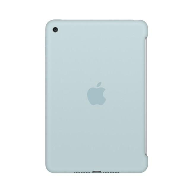 Чехол Apple Silicone Case Turquoise (MLD72) для iPad mini 4
