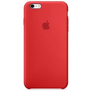 Купить Силиконовый чехол Apple Silicone Case (PRODUCT) RED (MKXM2) для iPhone 6s Plus