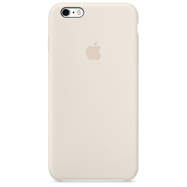 Силиконовый чехол Apple Silicone Case Antique White (MLCX2) для iPhone 6s