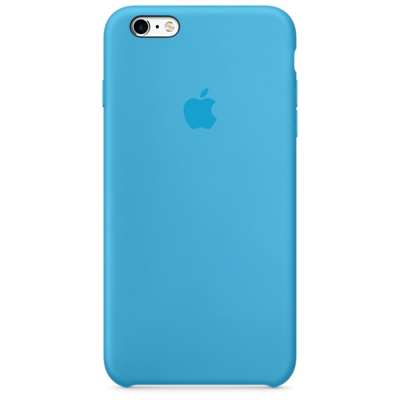 Силиконовый чехол Apple Silicone Case Blue (MKXP2) для iPhone 6s Plus