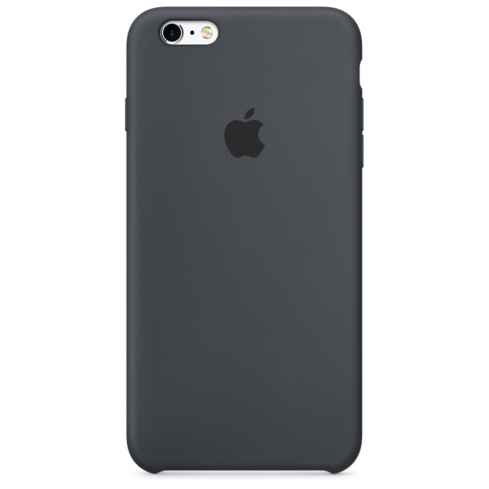 Силиконовый чехол Apple Silicone Case Charcoal Gray (MKXJ2) для iPhone 6s Plus