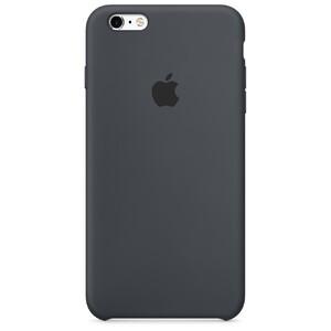 Купить Силиконовый чехол Apple Silicone Case Charcoal Gray (MKXJ2) для iPhone 6s Plus