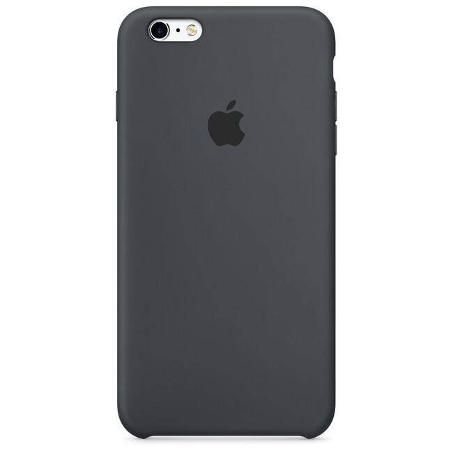 Силиконовый чехол Apple Silicone Case Charcoal Gray (MKXJ2) для iPhone 6s Plus