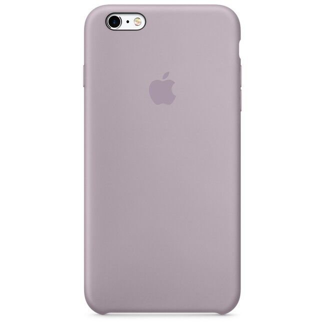 Силиконовый чехол Apple Silicone Case Lavender (MLD02) для iPhone 6s Plus